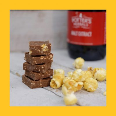 Malted Toffee Popcorn