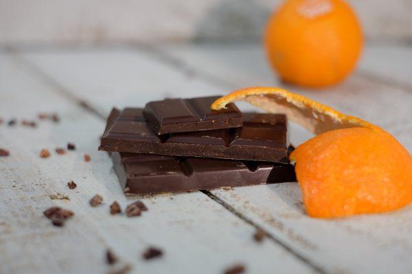 Bitter Orange chocolate bar