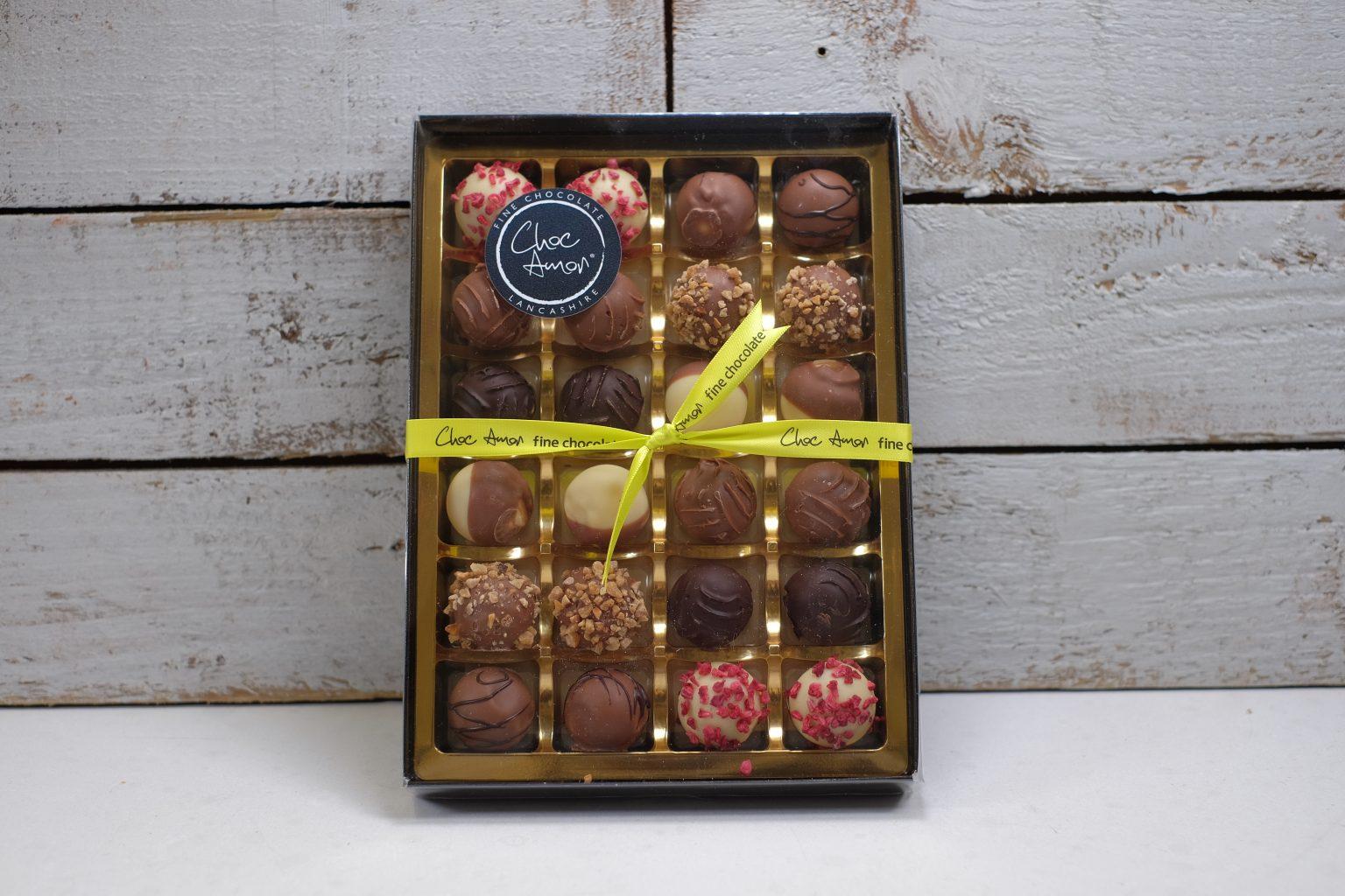 Large box of truffles