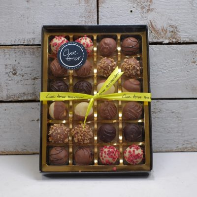 Large box of truffles
