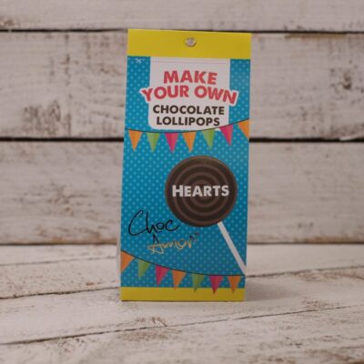 Lollipop Making Kit Hearts