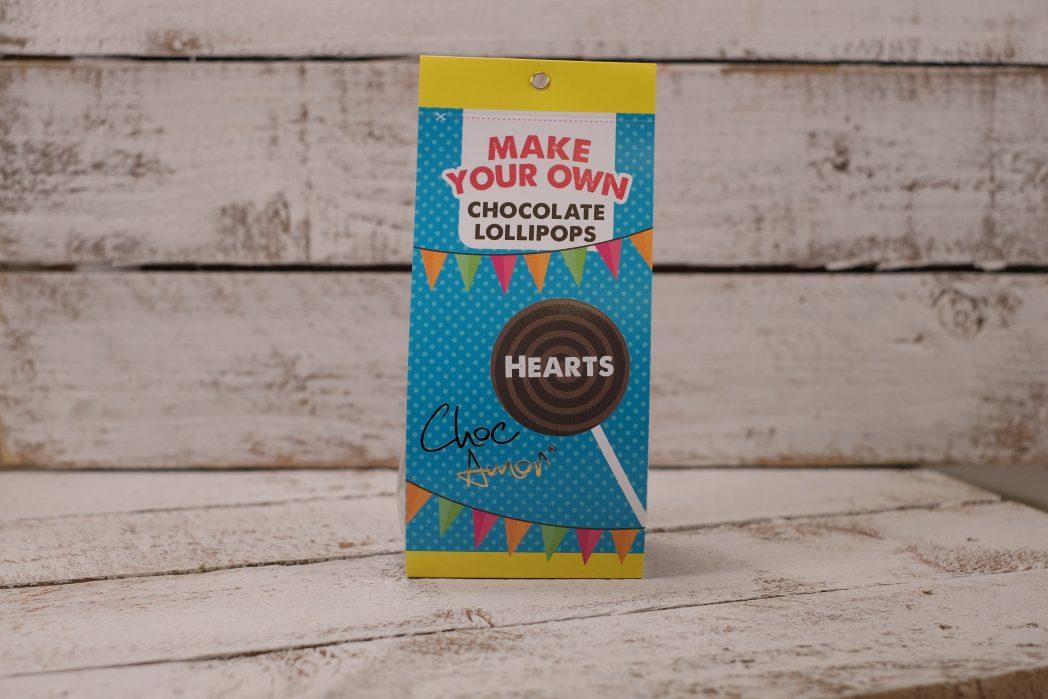 Lollipop Making Kit Hearts