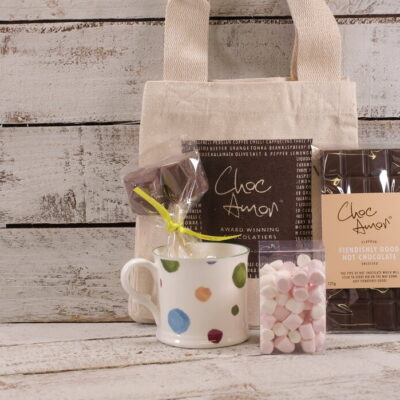 Hot Chocolate Pack with Mug (in bag )